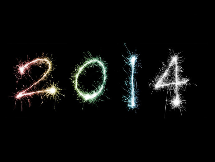 2014-та година е вече към края си. Годината е изписана с блестящи искри.