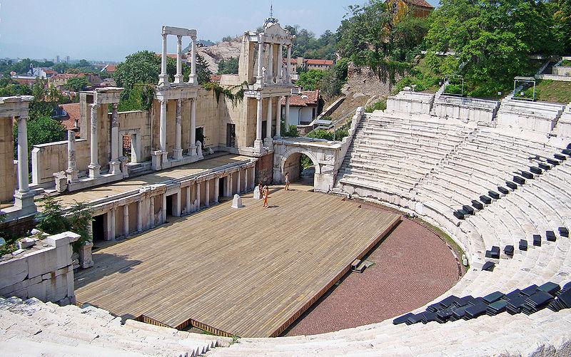 Античният театър, Пловдив
