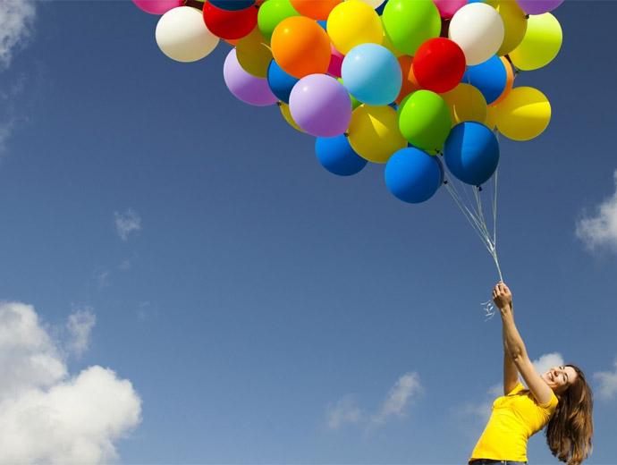 Небе и балони - важни за един забавен Ден на детето