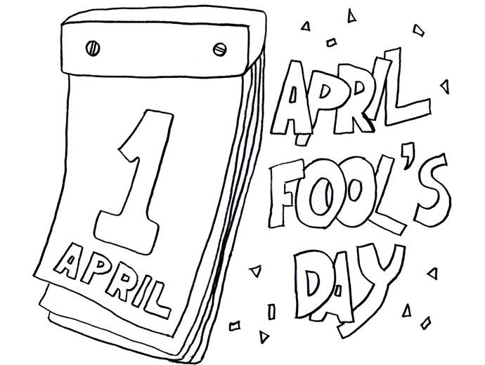 Денят на шегата - 1 април на календар.