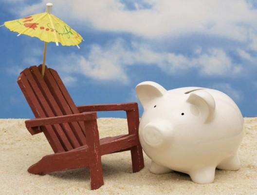 Прасенцето-касичка ще ви позволи да спестите малко пари за пътуване.