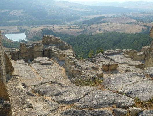 Поглед към долината от Перперикон