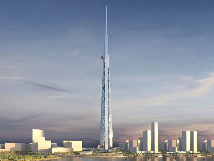 Компютърен проект на дизайна на Kingdom Tower