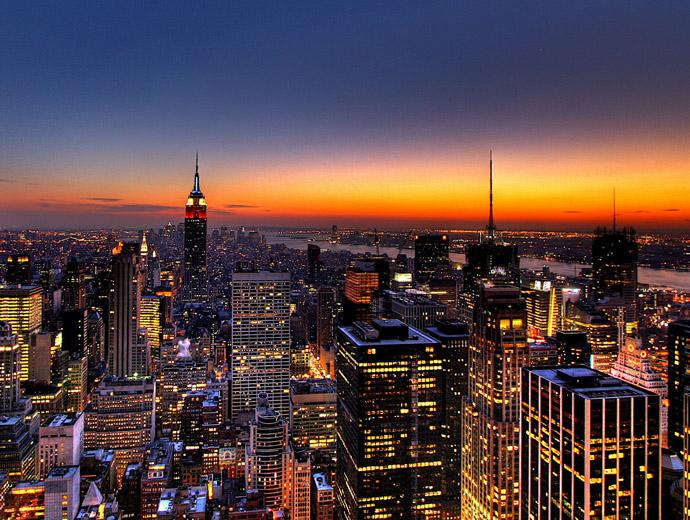 Небостъргачите на Ню Йорк - неделима част от най-големия град в САЩ