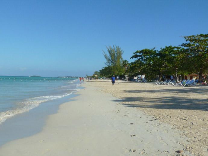 Плажът Негрил в Ямайка е определено сред най-известните в страната.