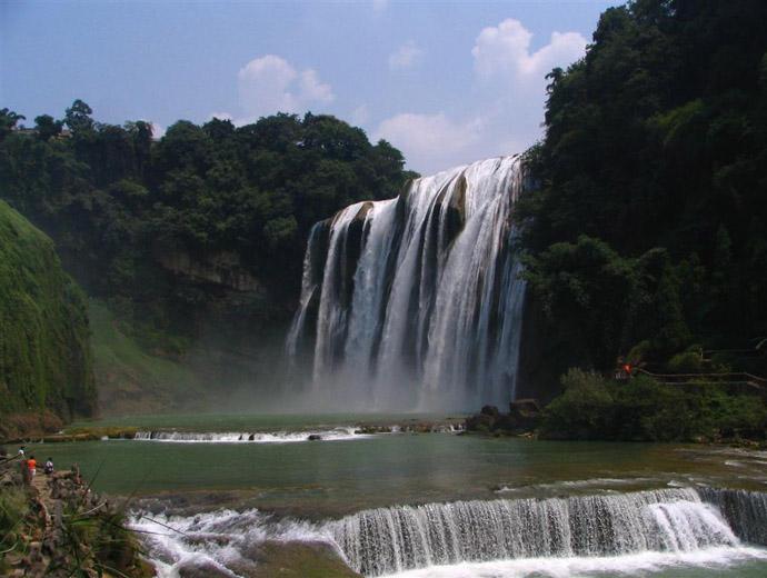 Ҳуанггуошу, Китай - малко известне, но наистина впечатляващ водопад