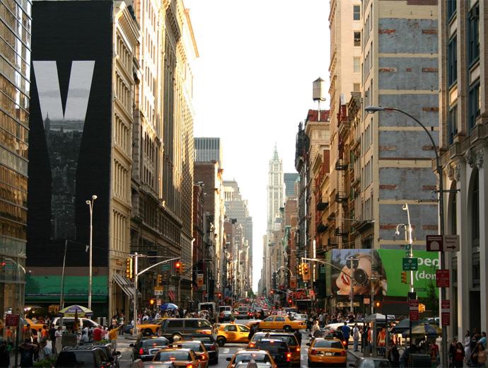Забързания ден в Ню Йорк