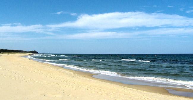 Плаж в Северна Корея