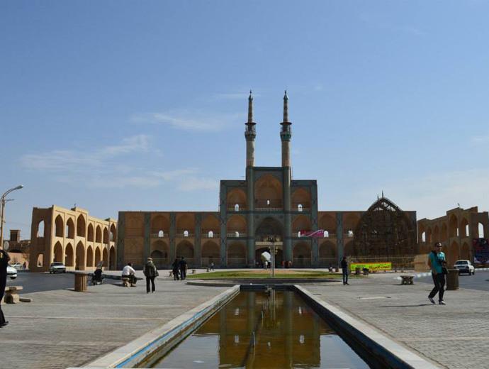 Namir Chamak Complex, Иран.