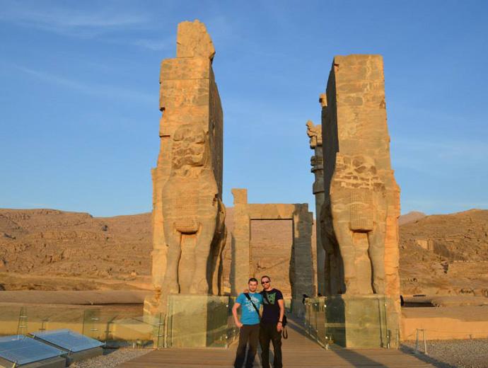 Древния град Персеполис, Иран.