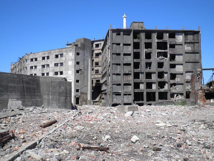 Изоставените сгради в Хашима, Япония