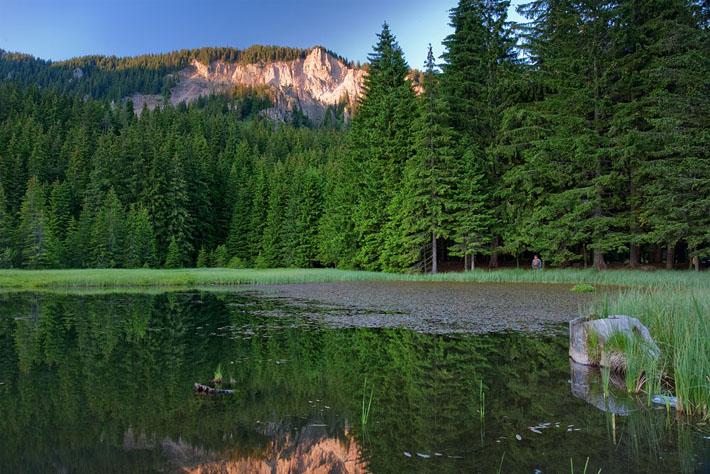 Тревистото езеро - едно от Смолянските езера