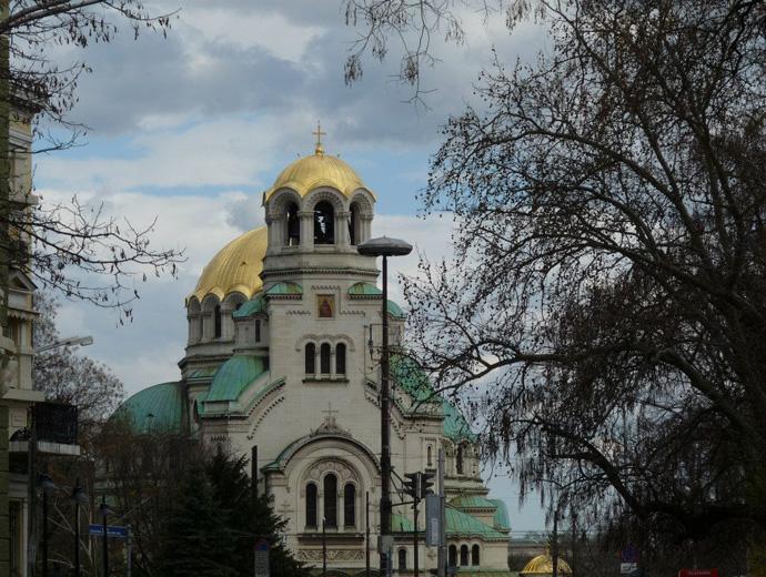 Един от символите на София - Александър Невски