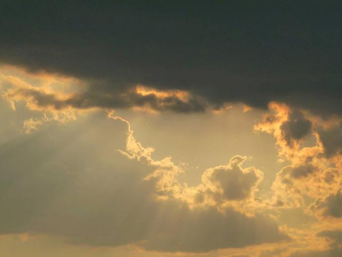 Залез над София.