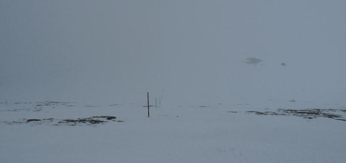 Заслон Ботев в мъглата